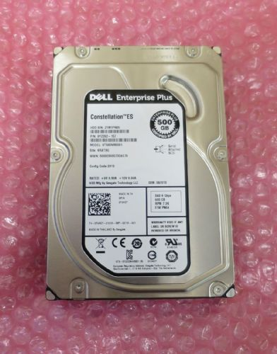 "NEW DELL EqualLogic 500GB 7.2K 3.5"" SAS ST500NM0001 9YZ262-157 HDD F98GY"